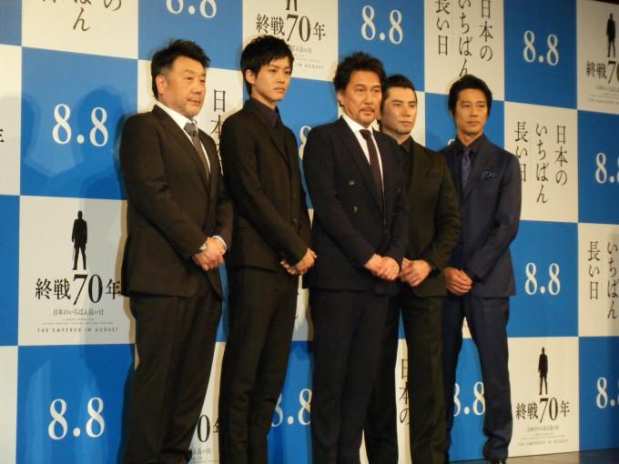 (c) Nanako Kinoshita / (c) 2015「日本のいちばん長い日」製作委員会